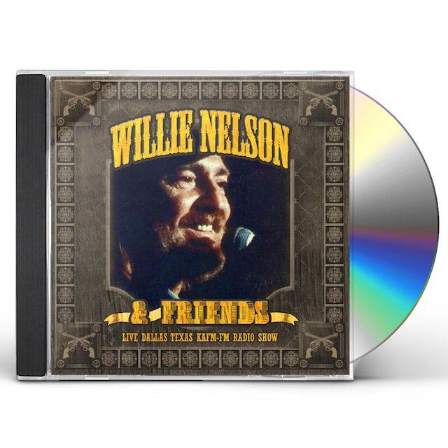 Willie Nelson LIVE DALLAS TEXAS KAFM-FM RADIO SHOW CD