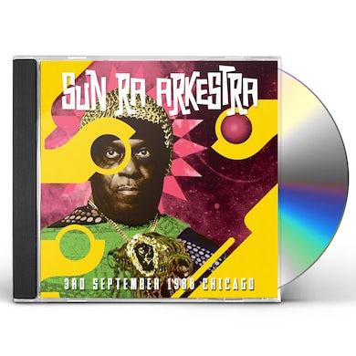 Sun Ra Arkestra 3RD SEPTEMBER 1988 CHICAGO CD