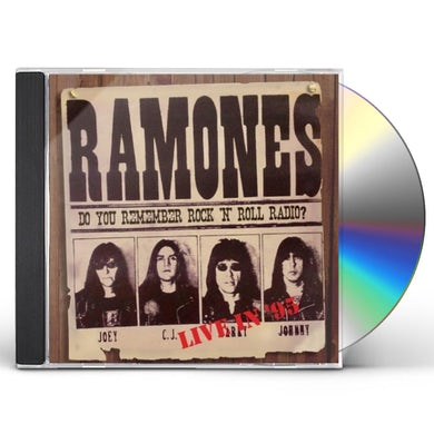 Ramones DO YOU REMEMBER ROCK 'N' ROLL RADIO LIVE IN '95 CD