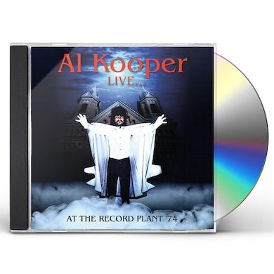 Al Kooper LIVE AT THE RECORD PLANT CD
