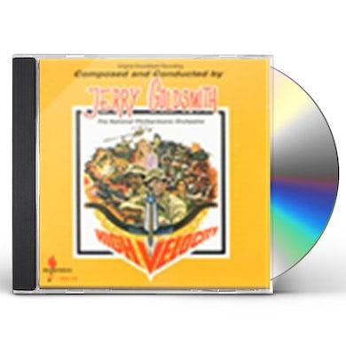 Jerry Goldsmith HIGH VELOCITY / Original Soundtrack CD