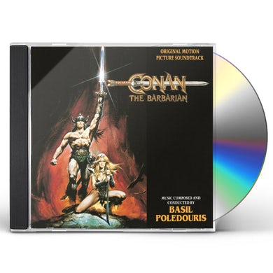 Basil Poledouris CONAN THE BARBARIAN / Original Soundtrack CD