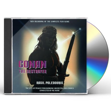 Basil Poledouris CONAN THE DESTROYER / Original Soundtrack CD