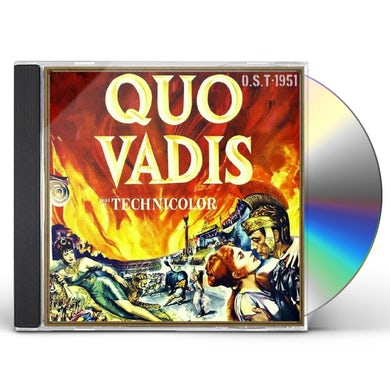 Miklos Rozsa QUO VADIS / Original Soundtrack CD