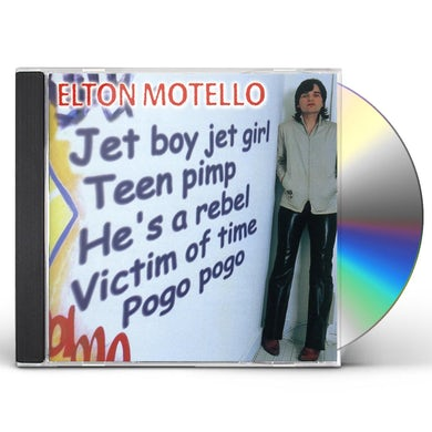 Elton Motello JET BOY JET GIRL CD