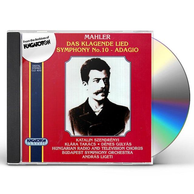 Gustav Mahler DAS KLAGENDE LIED. SYMPHONY NO. 10 ADAGIO CD