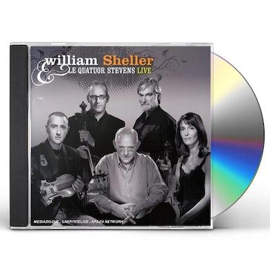 William Sheller QUATOUR STEVENS: LIVE CD