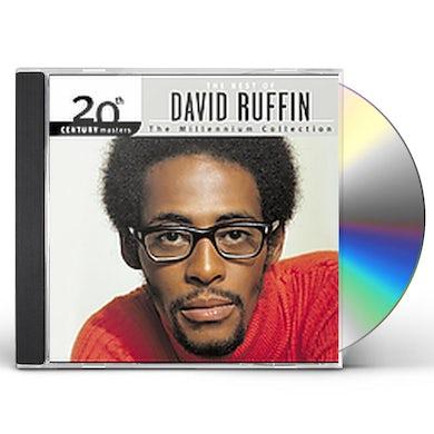 David Ruffin 20TH CENTURY MASTERS: MILLENNIUM COLLECTION CD