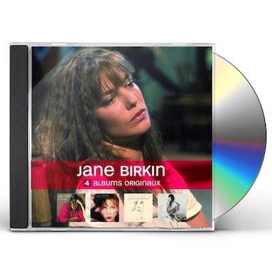 Jane Birkin 4 ALBUMS ORIGINAUX CD