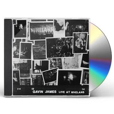 Gavin James LIVE AT WHELANS CD