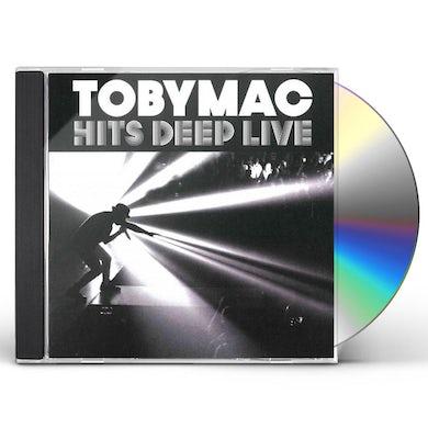 tobyMac HITS DEEP LIVE CD