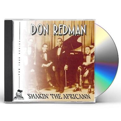 SHAKIN THE AFRICANN CD