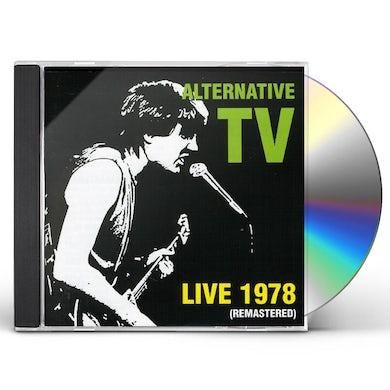 Alternative TV LIVE 1978 CD