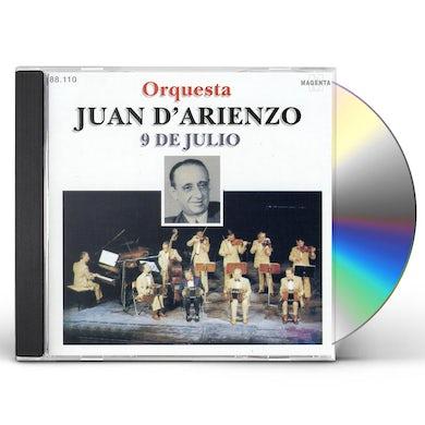 Juan d'Arienzo 9 DE JULIO CD