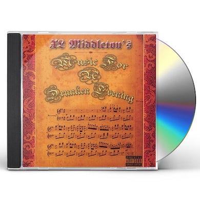 Xl Middleton MUSIC 4 A DRUNKEN EVENING CD