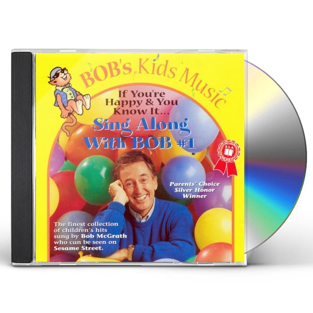 Bob McGrath SING ALONG WITH BOB 1 CD