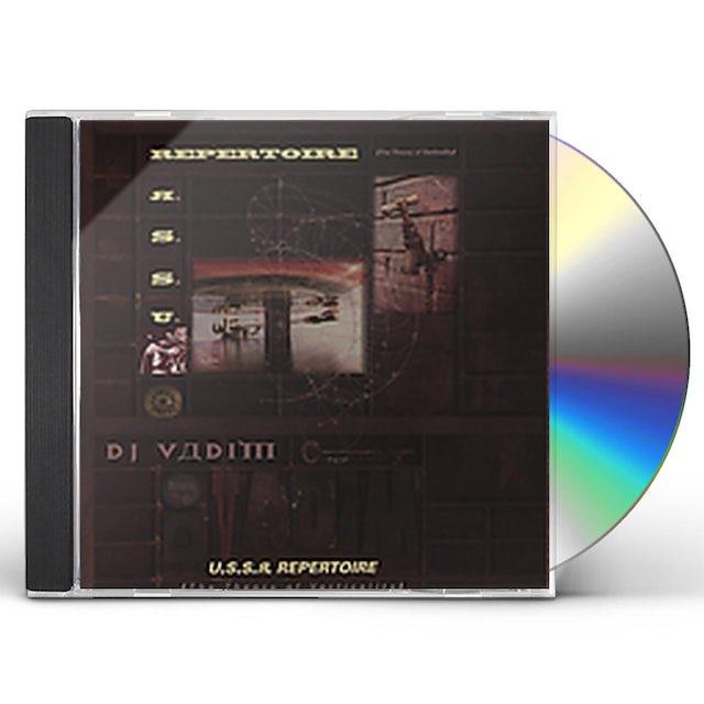 Dj Vadim USSR REPERTOIRE: THEORY OF VERTICALITY CD