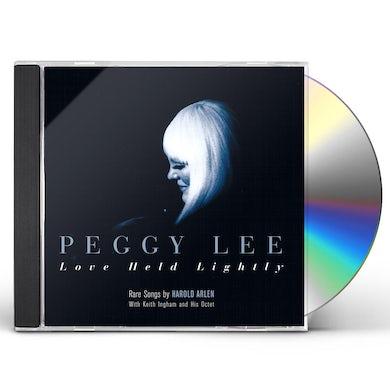 Peggy Lee LOVE HELD LIGHTLY CD