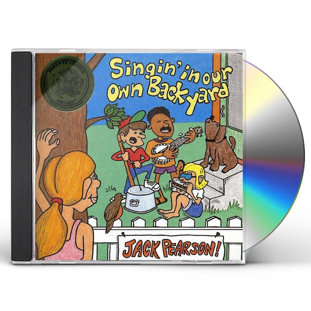 Jack Pearson SINGIN' IN OUR OWN BACK YARD CD