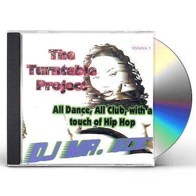 DJ Mr. Ice TURNTABLE PROJECT CD