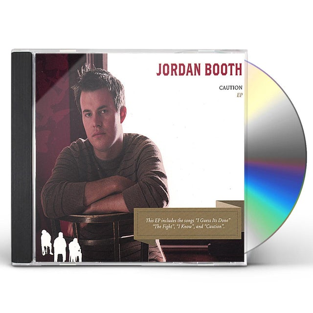 Jordan Booth CAUTION EP CD