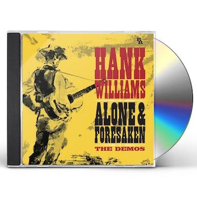 Hank Williams ALONE & FORSAKEN: THE DEMOS CD