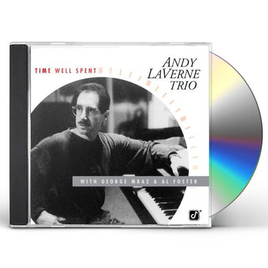 Andy LaVerne TIME WELL SPENT CD