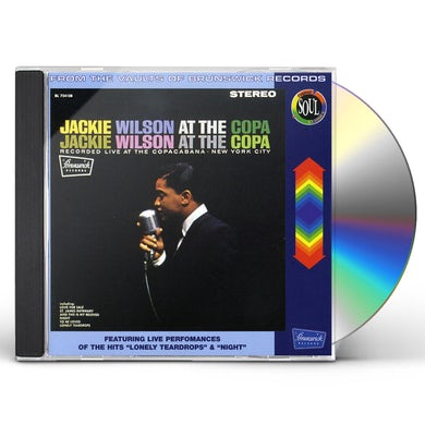 JACKIE WILSON AT THE COPA CD