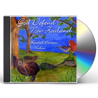 Rachel Barton GOD DEFEND NEW ZEALAND CD