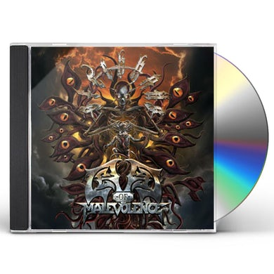 Sterbhaus NEW LEVEL OF MALEVOLENCE CD