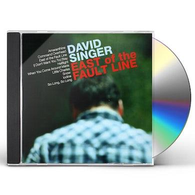 David Singer EAST OF THE FAULT LINE CD