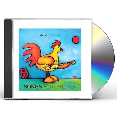 Victor Johnson SONGS FOR CHILDREN CD