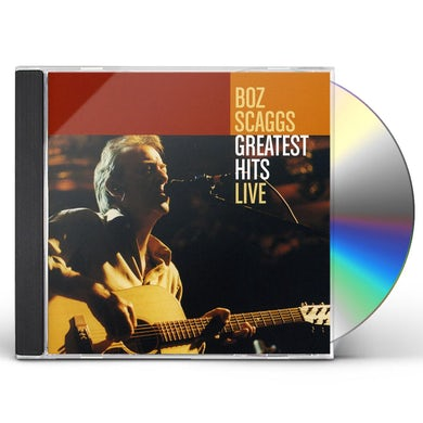 Boz Scaggs GREATEST HITS LIVE CD
