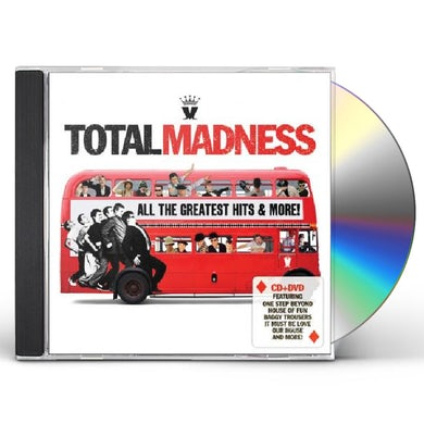 TOTAL MADNESS-ALL THE GREATEST CD