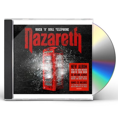 Nazareth ROCK N ROLL TELEPHONE: DELUXE EDITION CD