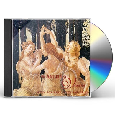 Angels of Venice MUSIC FOR HARP FLUTE & CELLO CD