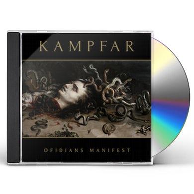 Kampfar OFIDIANS MANIFEST CD