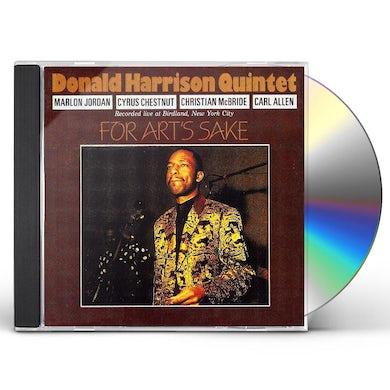 Donald Harrison FOR ART'S SAKE CD