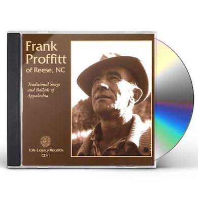 Frank Proffitt BALLADS & SONGS OA APPALACHIA CD