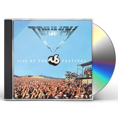 Triumph LIVE AT THE US FESTIVAL CD