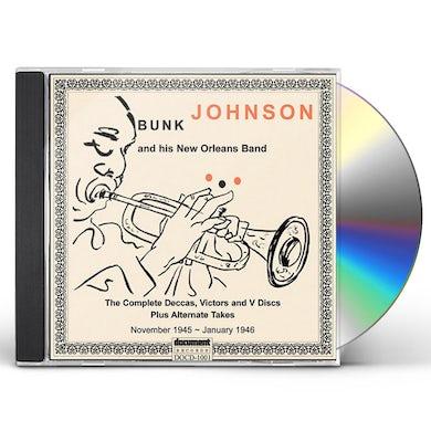 Bunk Johnson 1945-1946 COMPL DECCAS VICTORS & V DISCS CD