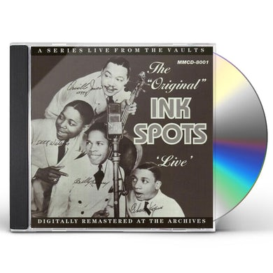 Mildred Bailey ORIGINAL INK SPOTS LIVE CD