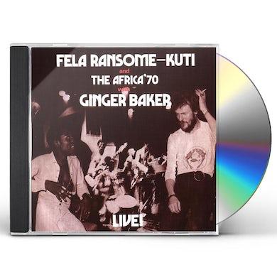 Fela Kuti LIVE WITH GINGER BAKER CD