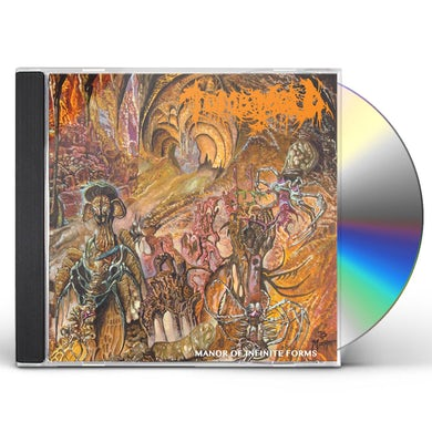 Tomb Mold MANOR OF INFINITE FORMS CD