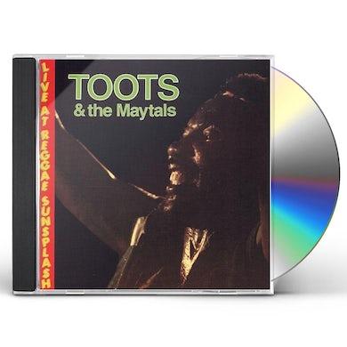 Toots & Maytals LIVE AT REGGAE SUNPLASH CD
