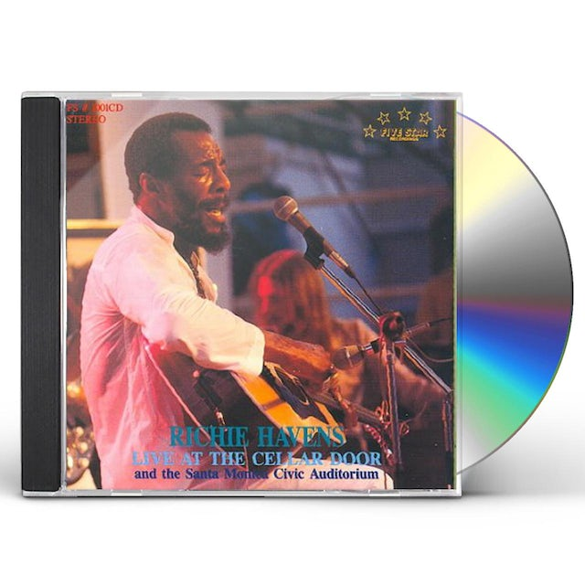 Richie Havens LIVE AT CELLAR DOOR (1972) CD