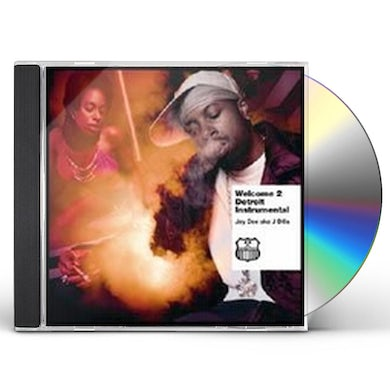 J Dilla WELCOME TO DETROIT (INSTRUMENTALS) CD