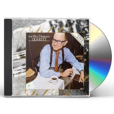 PAUL DESMOND QUARTET LIVE CD