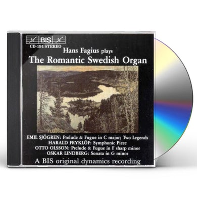 Hans Fagius ROMANTIC SWEDISH ORGAN CD