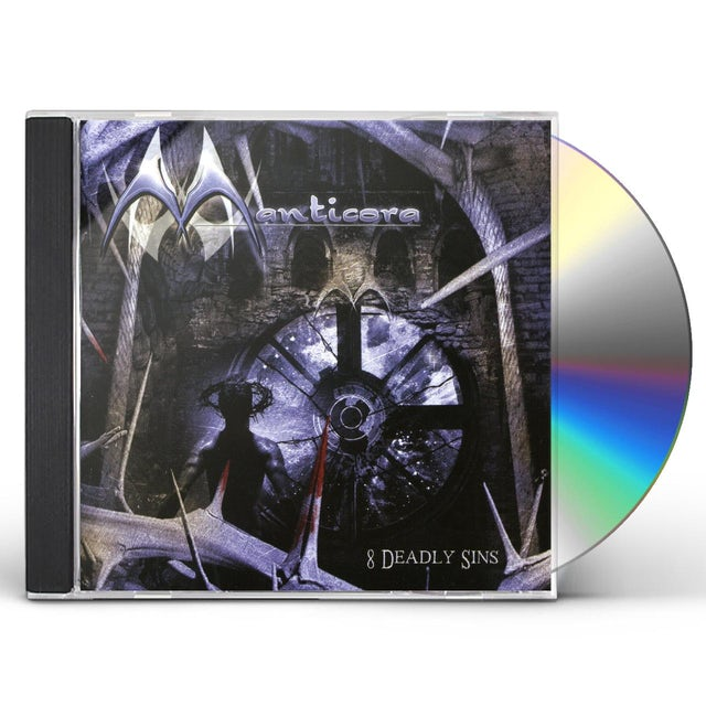 Manticora 8 DEADLY SINS CD